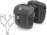Saddle Bags Givi MT501 + Specific holder for Yamaha XSR700 (16)