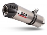 E.003.L4C - Exhaust Muffler Mivv OVAL Titanium BENELLI TRK 502 (17>)