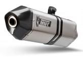 H.064.LRX - Exhaust Muffler Mivv SPEED EDGE SS/Carbon HONDA VFR 800 F (14-)