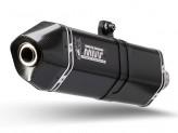 K.022.LRB - Exhaust Mivv SPEED EDGE STEEL BLACK KAWASAKI ZX-6 R / ZX-6 R 636