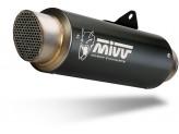 K.046.LXBP - Exhaust Muffler Mivv GPpro Steel Black KAWASAKI Z900 RS (18-)