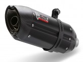 S.044.L9 - Exhaust Muffler Mivv SUONO STEEL BLACK SUZUKI GSX-S 1000 (2015 >)