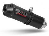 T.017.LEC - Exhaust Muffler Mivv OVAL Carbon TRIUMPH TIGER 1050 (17-)