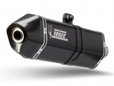 T.017.LRB - Exhaust Muffler Mivv SPEED EDGE STEEL BLACK TRIUMPH TIGER 1050 (17-)