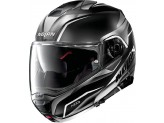 Helmet Flip-Up Full-Face Nolan N100.5 BALTEUS N-COM 41 Black White