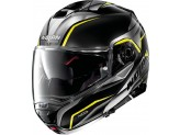 Helmet Flip-Up Full-Face Nolan N100.5 BALTEUS N-COM 43 Glossy-Black Yellow