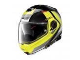 Helmet Flip-Up Full-Face Nolan N100.5 Hilltop 51 Glossy Black