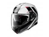 Helmet Flip-Up Full-Face Nolan N100.5 Hilltop 48 Metal White