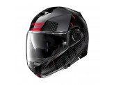 Helmet Flip-Up Full-Face Nolan N100.5 Lightspeed 54 Metal Black