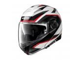 Helmet Flip-Up Full-Face Nolan N100.5 PLUS Overland 34 White Metal