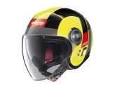 Helmet Jet Nolan N21 Visor Spheroid 47 Led Yellow