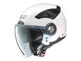 Helmet Jet Nolan N33 Evo Classic 2 Metal White