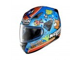 Helmet Full-Face Nolan N60.5 Gemini Replica 39 Melandri Aquarium Metal Blue