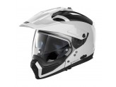 Helmet Full-Face Crossover Nolan N70.2 X Classic 5 Metal White