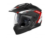 Helmet Full-Face Crossover Nolan N70.2 X Grandes Alpes 20 Matt Black