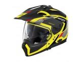 Helmet Full-Face Crossover Nolan N70.2 X Grandes Alpes 27 Led Yellow
