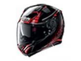 Helmet Full-Face Nolan N87 AULICUS N-COM 81 Metal-Black Red