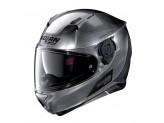 Helmet Full-Face Nolan N87 Emblema 77 Scratched Chrome