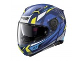 Helmet Full-Face Nolan N87 Originality 67 Imperator Blue