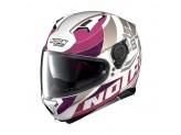 Helmet Full-Face Nolan N87 Plein Air 47 Metal White