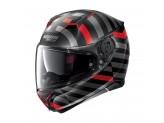 Helmet Full-Face Nolan N87 Shockwave N-COM 104 Flat Black