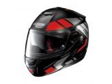 Helmet Flip-Up Full-Face Nolan N90.2 25 Euclid Flat Black