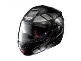 Helmet Flip-Up Full-Face Nolan N90.2 26 Euclid Flat Black