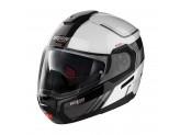 Helmet Flip-Up Full-Face Nolan N90.3 VOYAGER 17 Metal White