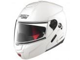 Helmet Flip-Up Full-Face Nolan N90.2 Classic 5 Metal White