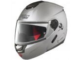 Helmet Flip-Up Full-Face Nolan N90.2 Special 11 Salt Silver