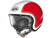 Helmet Jet Nolan N21 Tricolore 31 Metal White