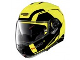 Helmet Flip-Up Full-Face Nolan N100.5 Consistency 26 Led Yellow