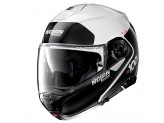 Helmet Flip-Up Full-Face Nolan N100.5 PLUS Distinctive 22 Metal White