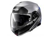 Helmet Flip-Up Full-Face Nolan N100.5 PLUS Distinctive 30 Matt Silver