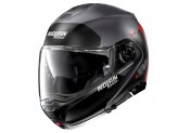 Helmet Flip-Up Full-Face Nolan N100.5 PLUS Distinctive 24 Matt Grey Red