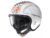 Helmet Jet Nolan N21 Getaway 81 Metal White