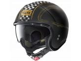 Helmet Jet Nolan N21 Getaway 82 Matt Black Gold