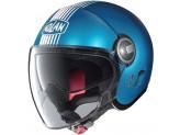Helmet Jet Nolan N21 Visor Joie De Vivre 68 Sapphire Matt Blue