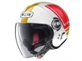 Helmet Jet Nolan N21 Visor Flybridge 67 Metal White Italy