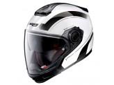 Helmet Full-Face Crossover Nolan N40-5 GT Resolute 24 Metal White