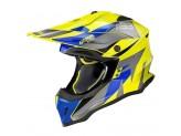 Helmet Full-Face Off-Road Nolan N53 Portland 60 Led Yellow Blue