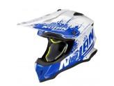 Helmet Full-Face Off-Road Nolan N53 Savannah 68 Metal White Blue