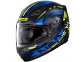 Helmet Full-Face Nolan N60.5 Secutor 72 Matt-Black Blue Yellow