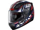 Helmet Full-Face Nolan N60.5 Secutor 71 Matt-Black Red Blue