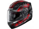 Helmet Full-Face Nolan N60.5 Secutor 70 Matt-Black Red