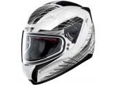 Helmet Full-Face Nolan N60.5 Mikado 62 Metal White