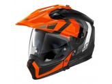 Helmet Full-Face Crossover Nolan N70.2 X DECURIO N-COM 31 Matt-Black Orange