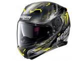 Helmet Full-Face Nolan N87 CARNIVAL N-COM 85 Matt-Black Yellow