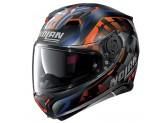 Helmet Full-Face Nolan N87 VENATOR N-COM 91 Matt-Black Orange Blue