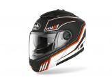 Helmet Flip-Up Full-Face Airoh Phantom S Beat Matt Orange